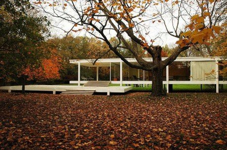 The Farnsworth House МИС ВАН ДЕР РО́Э
